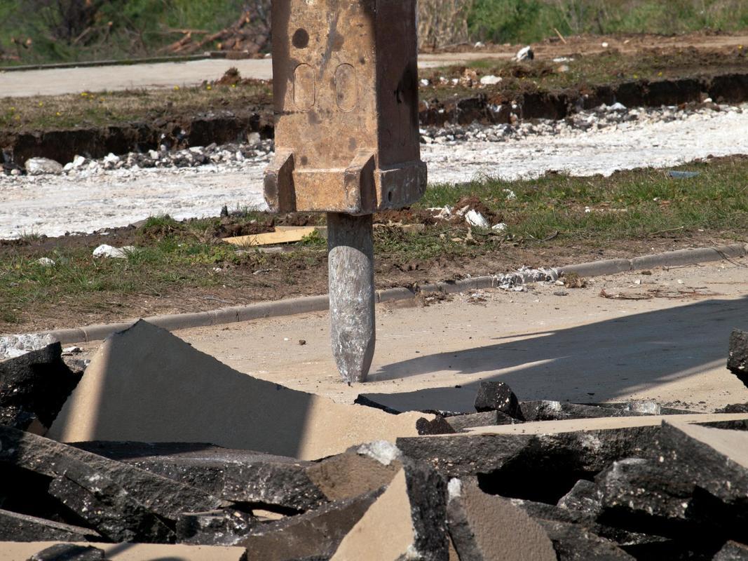 concrete demolition